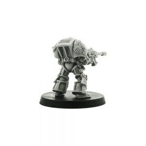 Daemonhunter Inquisitor in Terminator Armour