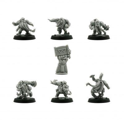 The Dwarf Giants – Dwarf Blood Bowl Team*6
