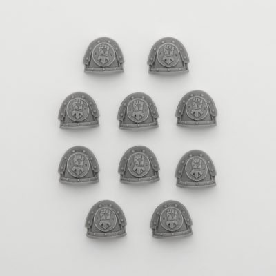 Mk III Shoulder Pads – Imperial Fists
