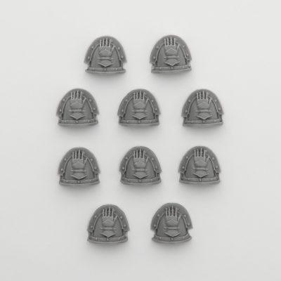 Iron Hands Legion Mk III Shoulder Pads