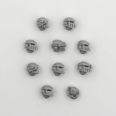 Iron Hands Legion Upgrade Set — Heads