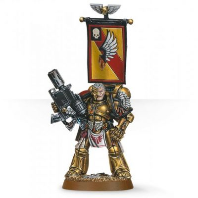 Blood Angels Captain Tycho
