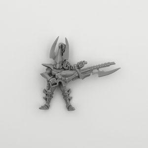Dark Eldar with Splinter Cannon #1 1999