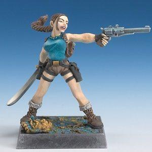 Female Archeologist (Freebooter Miniatures)