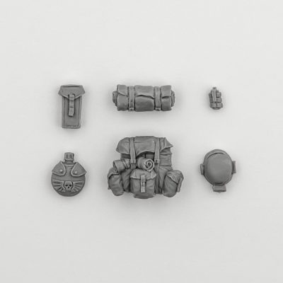 Imperial Guard Webbing Pack (Inquisitor 54 mm)