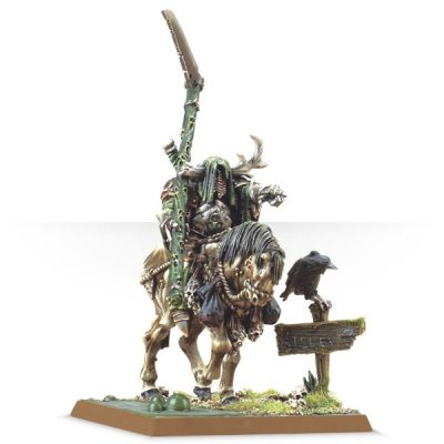Lord of Nurgle on Steed/Harbinger of Decay